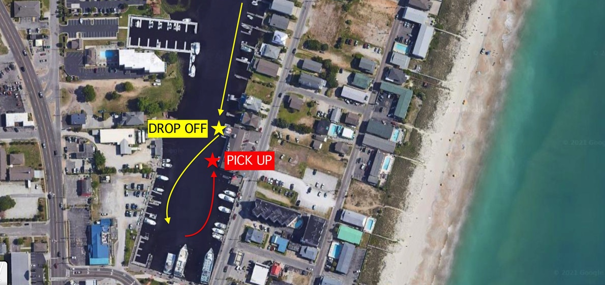 drop off and pick up map 2